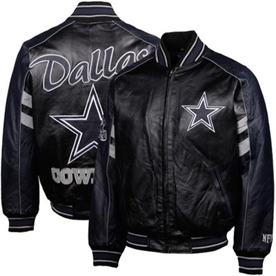 watch 6d3df f7448 Dallas cowboys leather jackets for men