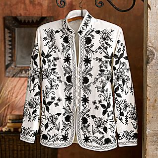 Embroidered Jackets for Women