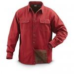 Fleece Lined Shirt Jacket