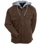 Hooded Shirt Jacket