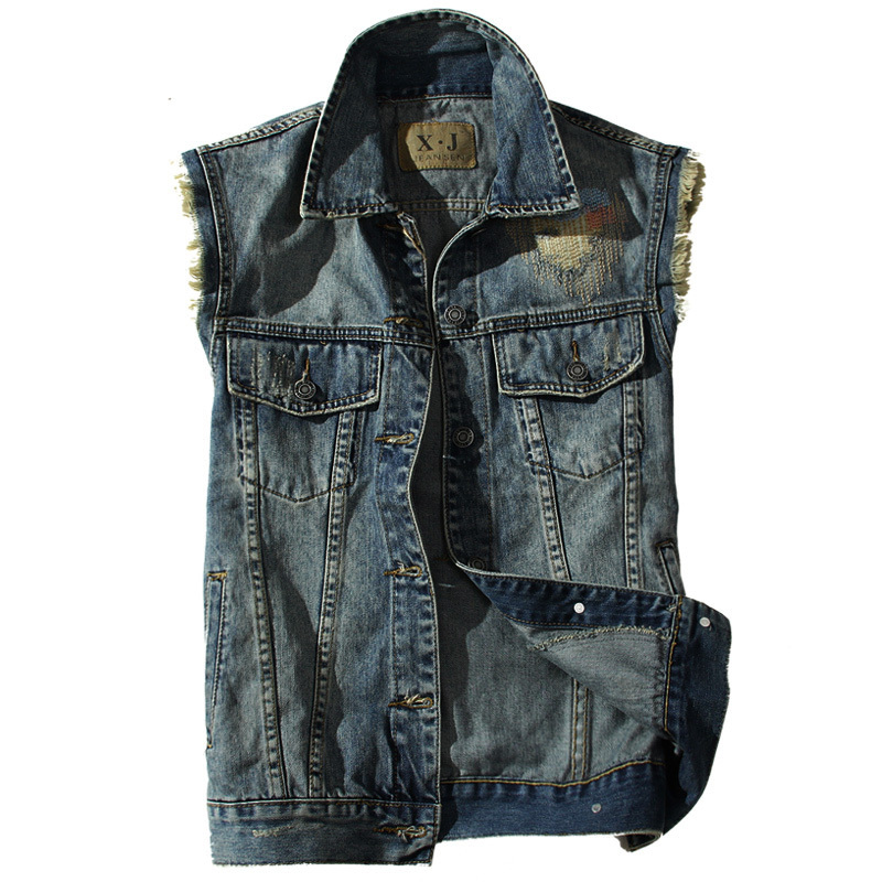 Jean jacket vest mens – New Fashion Photo Blog