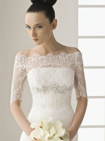Images of Lace Jacket For Wedding Dress - Weddings Center