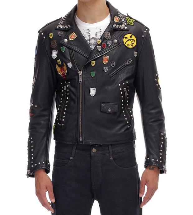 Goth leather jackets