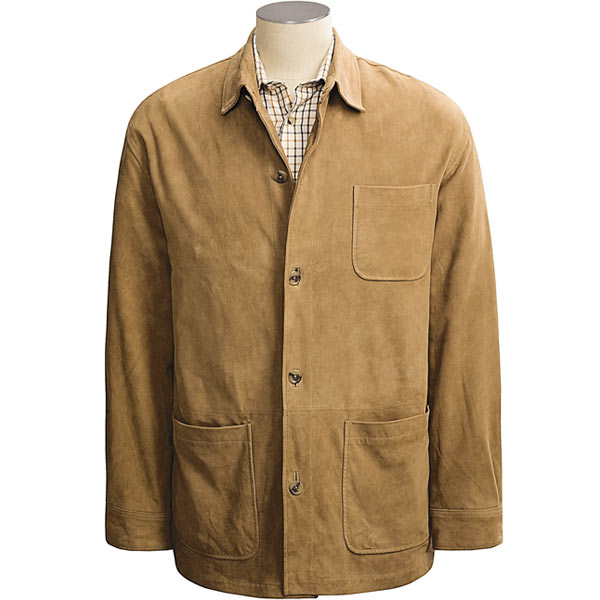 Mens Brown Plaid Shirt
