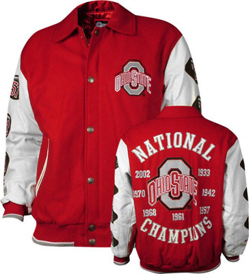 the latest 11ba5 2357c Ohio State Jackets