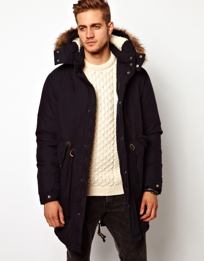 Black Parka Jacket Men | Outdoor Jacket