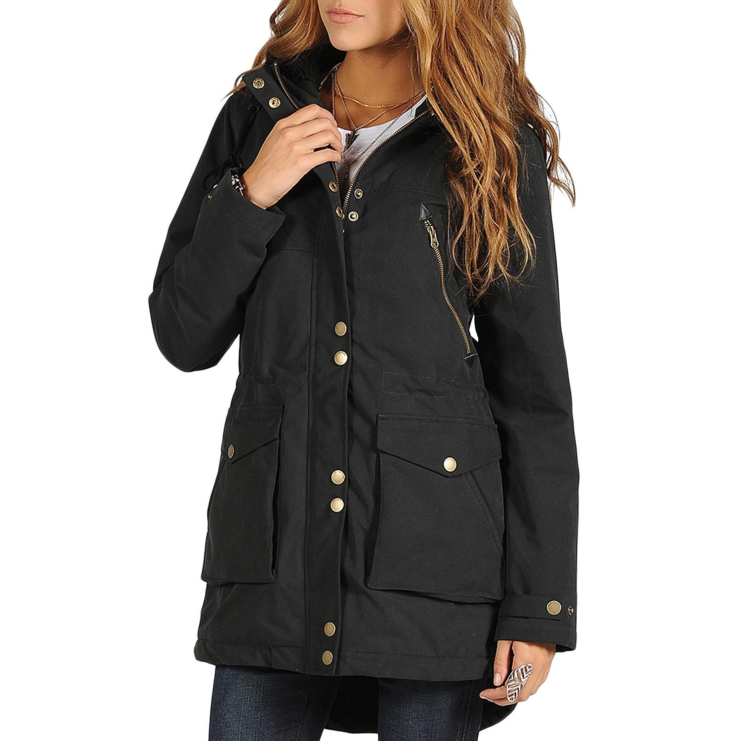 Black Parka Jackets