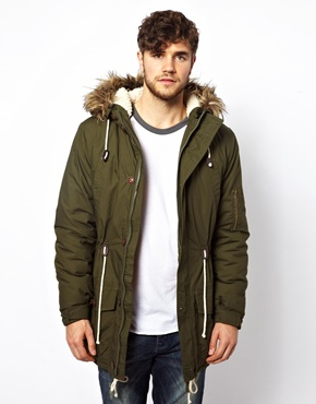 Collection Mens Green Parka Pictures - Reikian