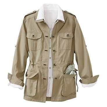 Safari Jacket Women
