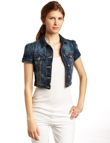 Jackets for Teens If it's juniors' denim you're in search of, try on some of the looks from brands like Free People or Material Girl. A cute denim jacket is a key piece for coordinating with all your go-to bottoms.