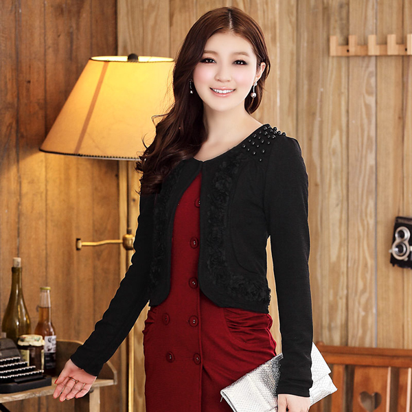 Black Short Jacket Ladies - My Jacket