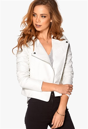 Short White Jacket - JacketIn