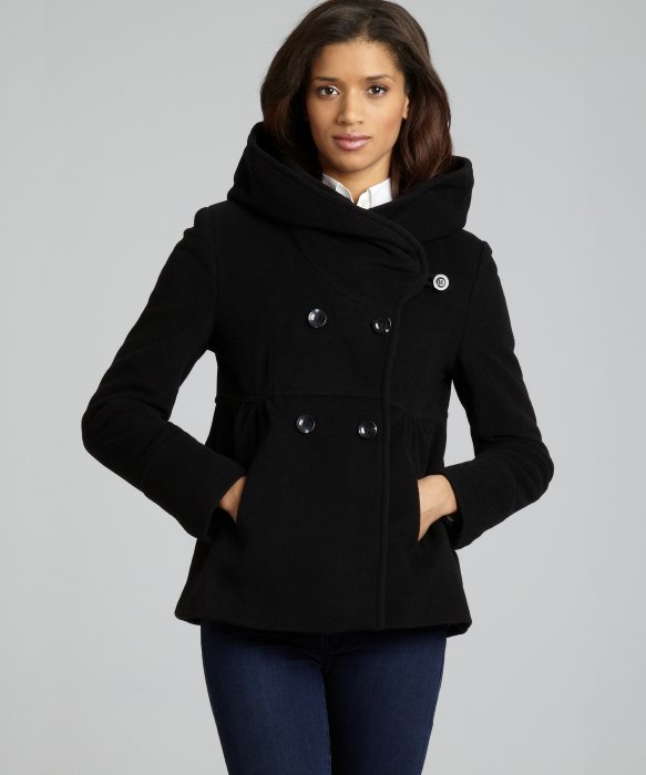 Wool Short Coat | Down Coat