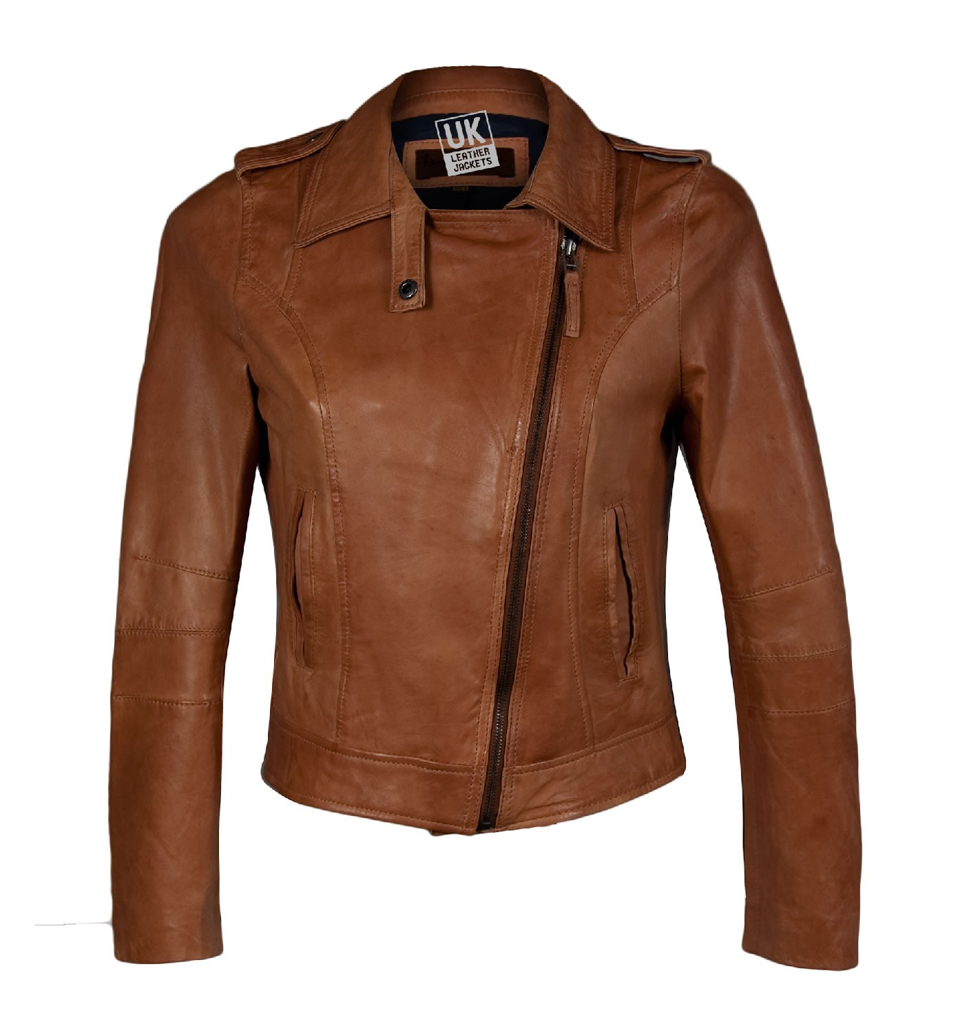 Collection Tan Leather Jacket Womens Pictures - Reikian