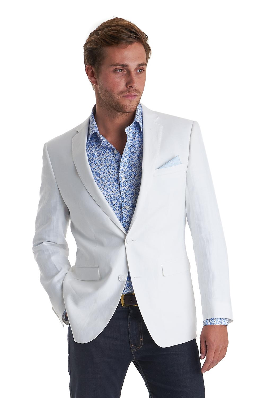 Linen White Blazer | Fashion Ql