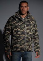 Army Camo Jacket Mens
