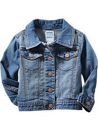Baby Jean Jacket