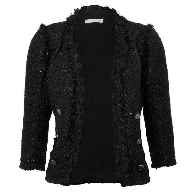 Shop our Collection of Women's Black Boucle Jackets at pc-ios.tk for the Latest Designer Brands & Styles. FREE SHIPPING AVAILABLE!