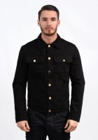 Black Jean Jacket Mens