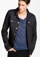 Black Jean Jacket Outfit Men