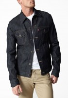 Black Jean Jacket for Men