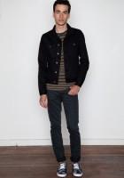 Black Jean Jacket for Men