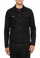 Black Jean Jackets for Men