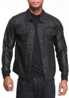 Black Jean Jackets for Men