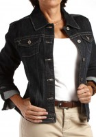 Black Jean Jackets for Women