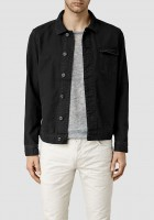 Black Mens Jean Jacket
