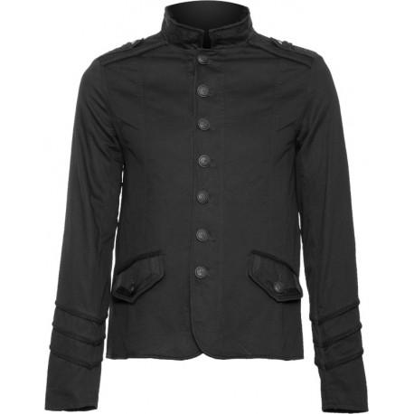 Black military jacket mens