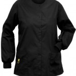 Black Scrub Jacket
