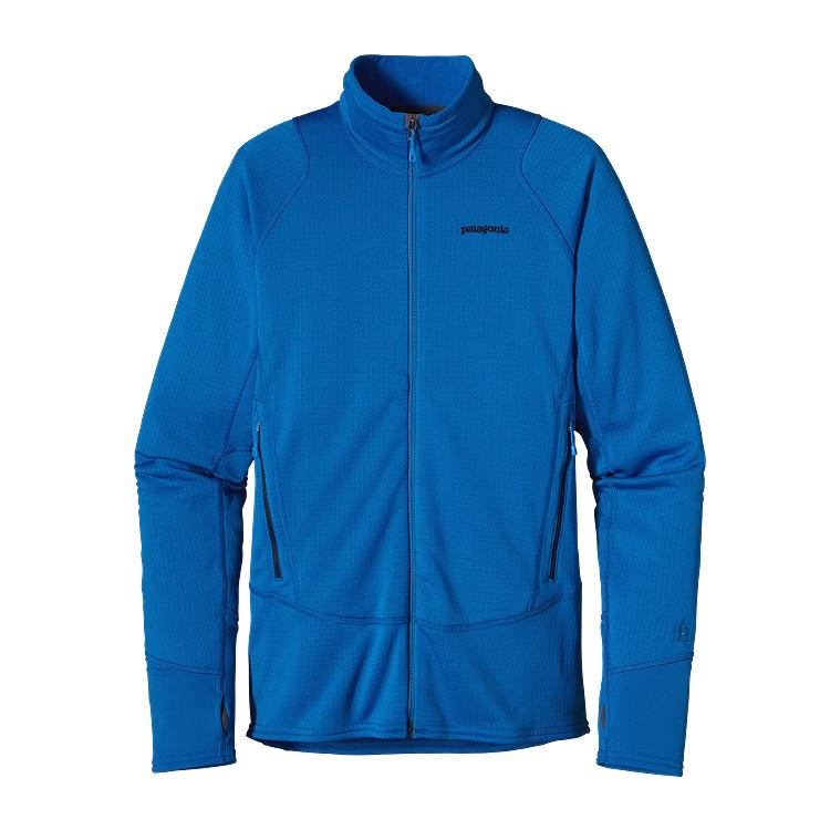 Mens Blue Fleece Jacket | Outdoor Jacket