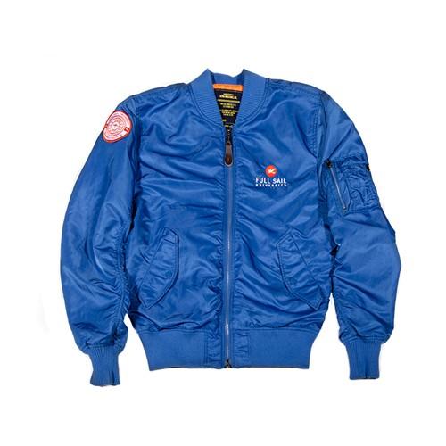 Blue Flight Jacket | Outdoor Jacket