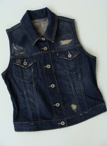 Blue Jean Jacket Vest