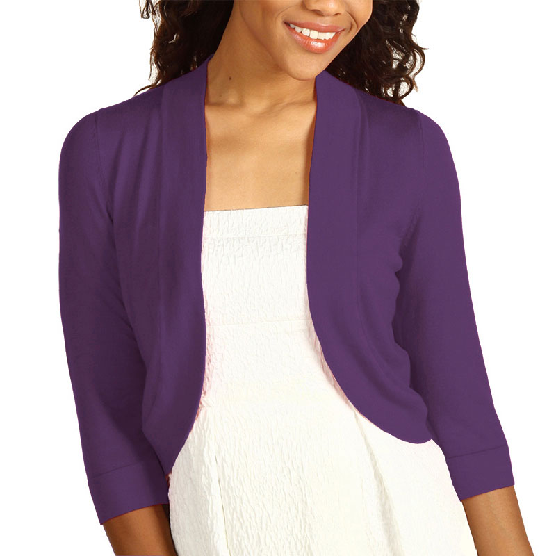 Purple Sweater Womens
