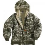 Boys Camouflage Jacket