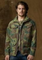 Camo Military Jacket Men