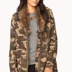 Camouflage Jacket Women