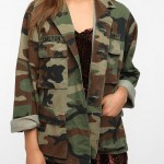 Camouflage Jacket for Women