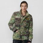 Camouflage Jean Jacket