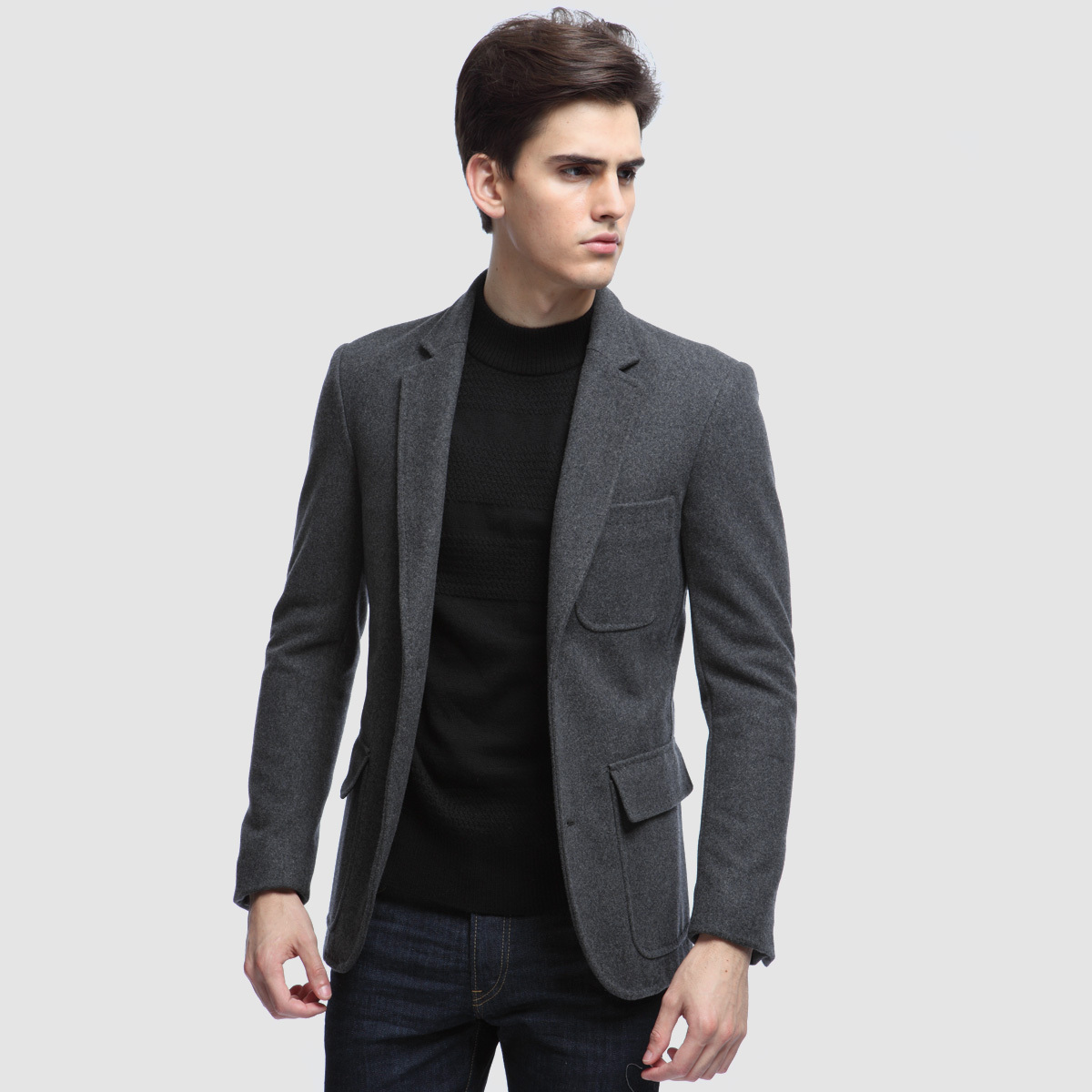 Stylish men's suit jackets and coats take sophistication to a whole new level. Whether you have a family wedding coming up or a big presentation at the office, Sears carries well-fitted men's blazers that make you feel confident and effortlessly stylish.