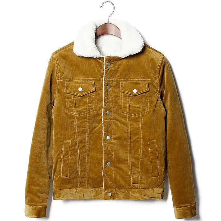 Womens Brown Jean Jacket