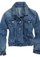 Cropped Blue Jean Jacket