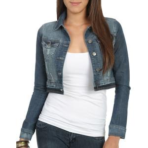 Cropped Blue Jean Jacket   Outdoor Jacket