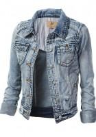 Cropped Jean Jackets for Women