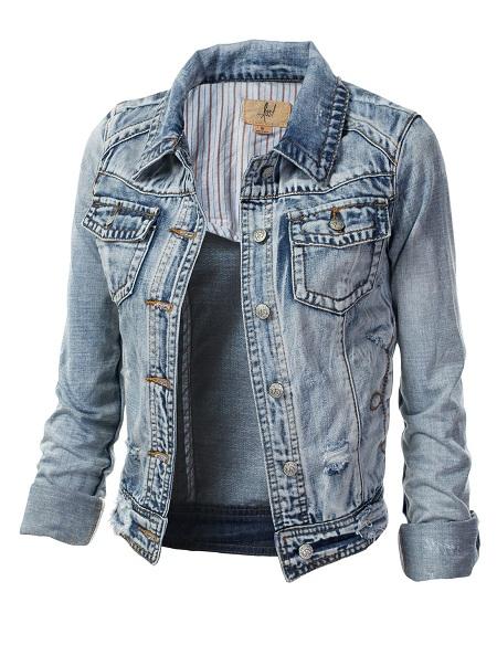Cropped Jean Jackets Jackets