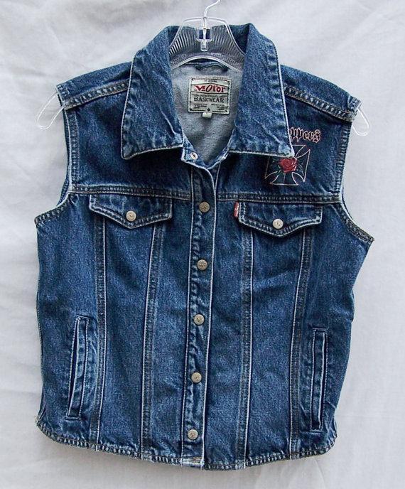 Denim Motorcycle Jackets Jackets