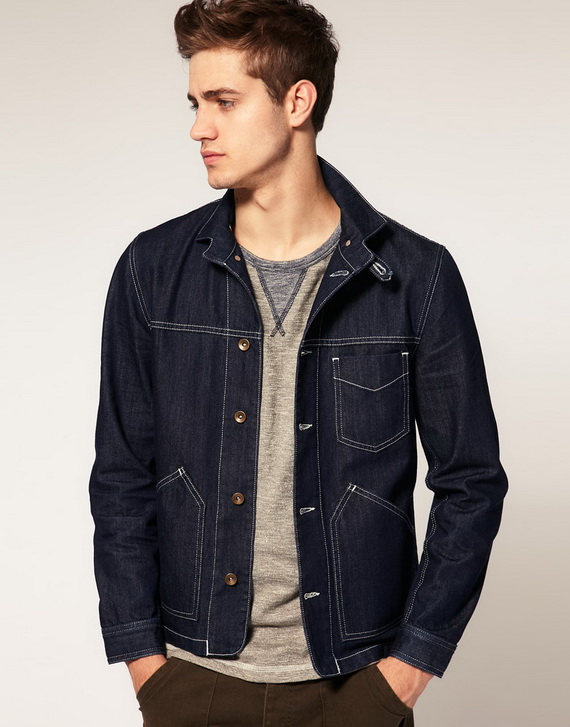 Denim Jackets For Men Exude the laidback feel of quintessential American style with denim jackets for men. An easy piece to wear when it's not quite summer yet but too warm for a coat, the jean jacket is a spring and autumn staple in any guy's wardrobe.