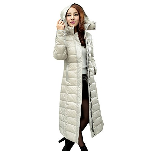 Womens Full Length Down Coats Jacketin